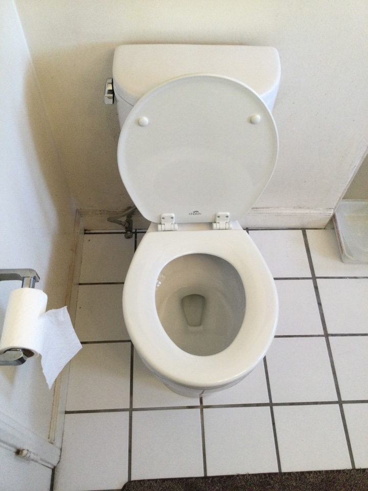 Best Plumber near me Working on Replacement of Toilet, Old Toilet was leaking. Installed New Toto Toilet
