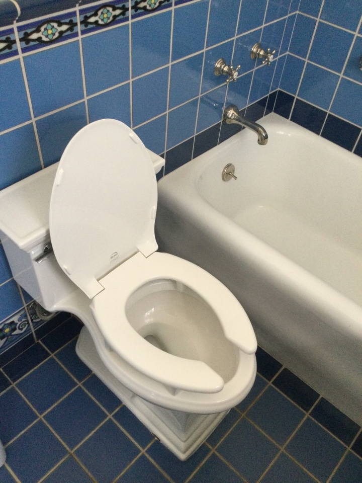 Altadena, CA - Plumber Repairing Loose toilet, replaced toilet seal and bolts tightened down.