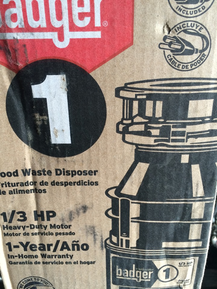 Diamond Bar, CA - Garbage disposer broken need to replace with new