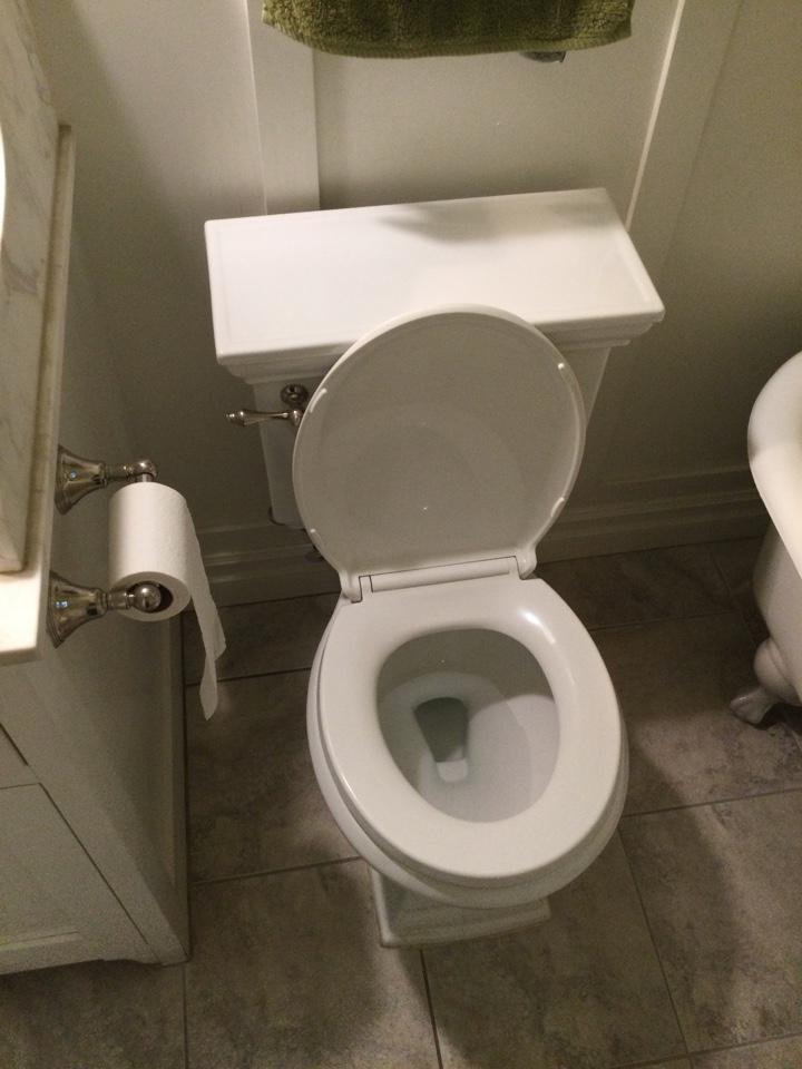 Sierra Madre, CA - Best Plumber near me working on Repairing Kohler toilet that was leaking and not flushing properly