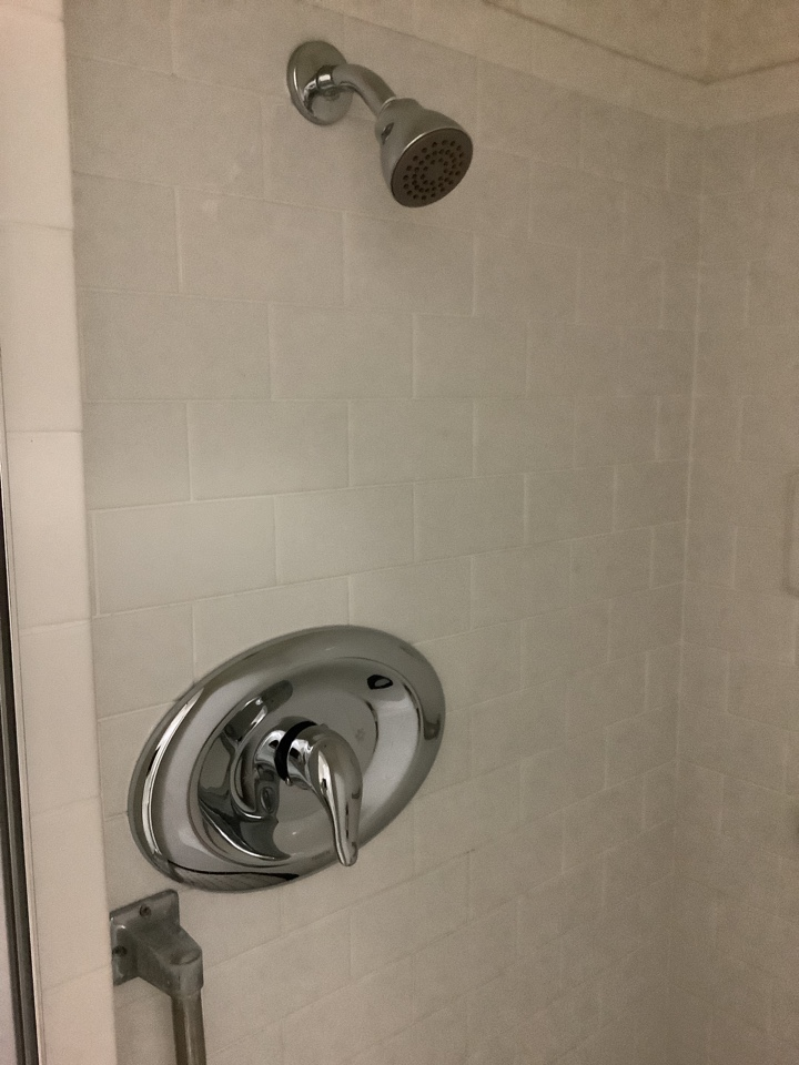 Pasadena, CA - Plumber working on Replacing Shower valve that was leaking installing Premium Moen single control valve with all New trim kit