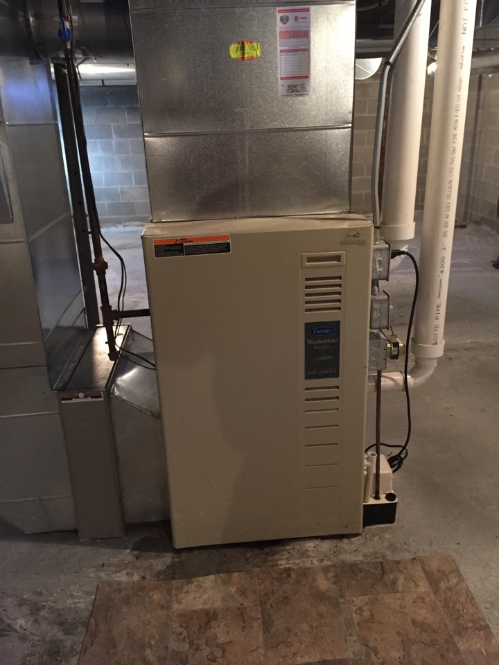 Aniwa, WI - Furnace No-Heat: diagnosed no heat symptom on carrier furnace