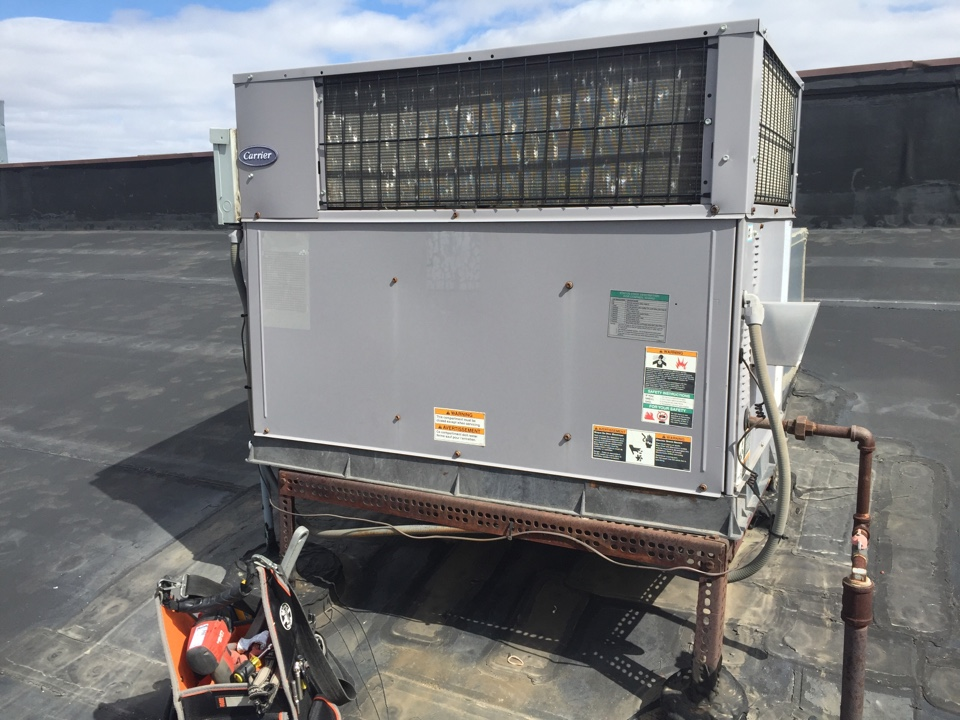 Schofield, WI - Rooftop heating issue: replaced combustion fan