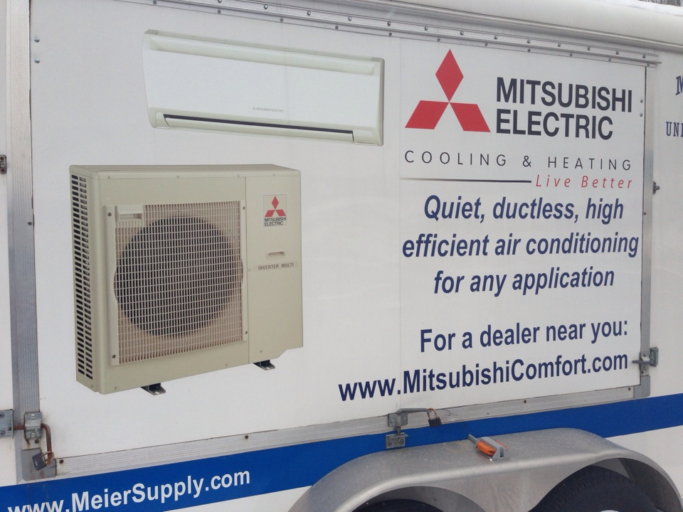 Conklin, NY - Mitsubishi training at Meiers supply