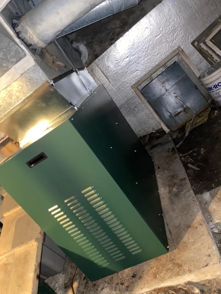 Windsor, NY - Williamson furnace installation