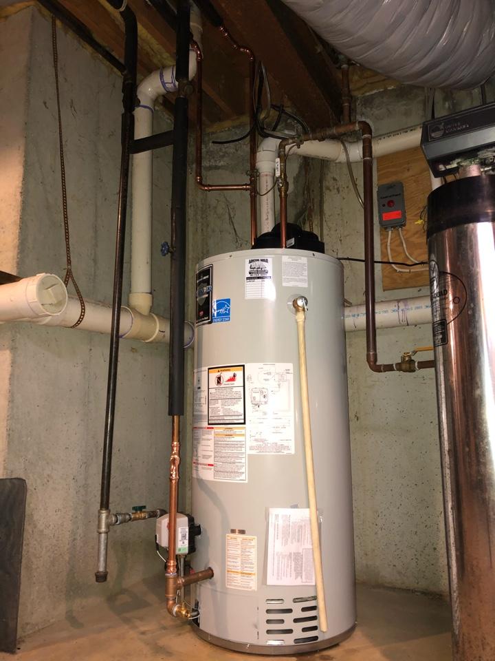 Apalachin, NY - Water heater installation