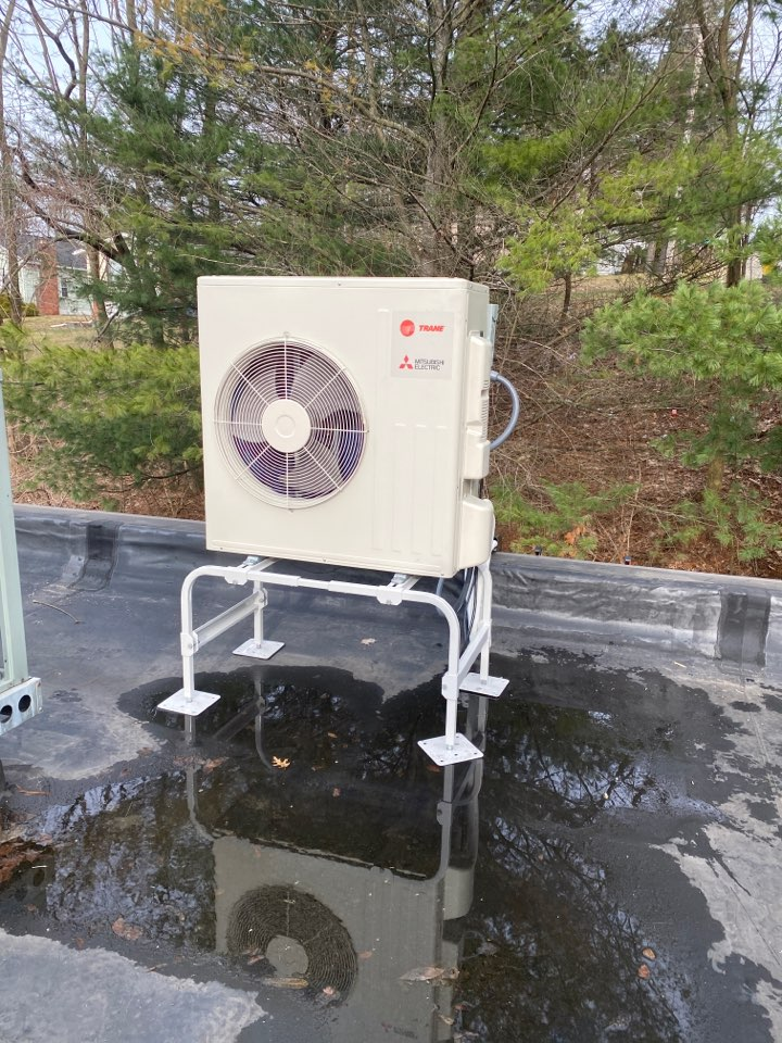 Endwell, NY - Trane Mitsubishi ductless installation