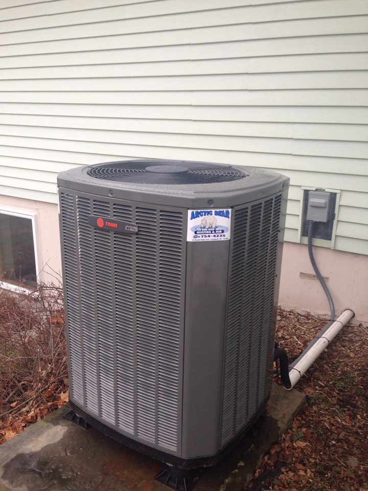 Susquehanna, PA - Installing Trane high efficient fully modulating heat pump/AC system with electric back up heat