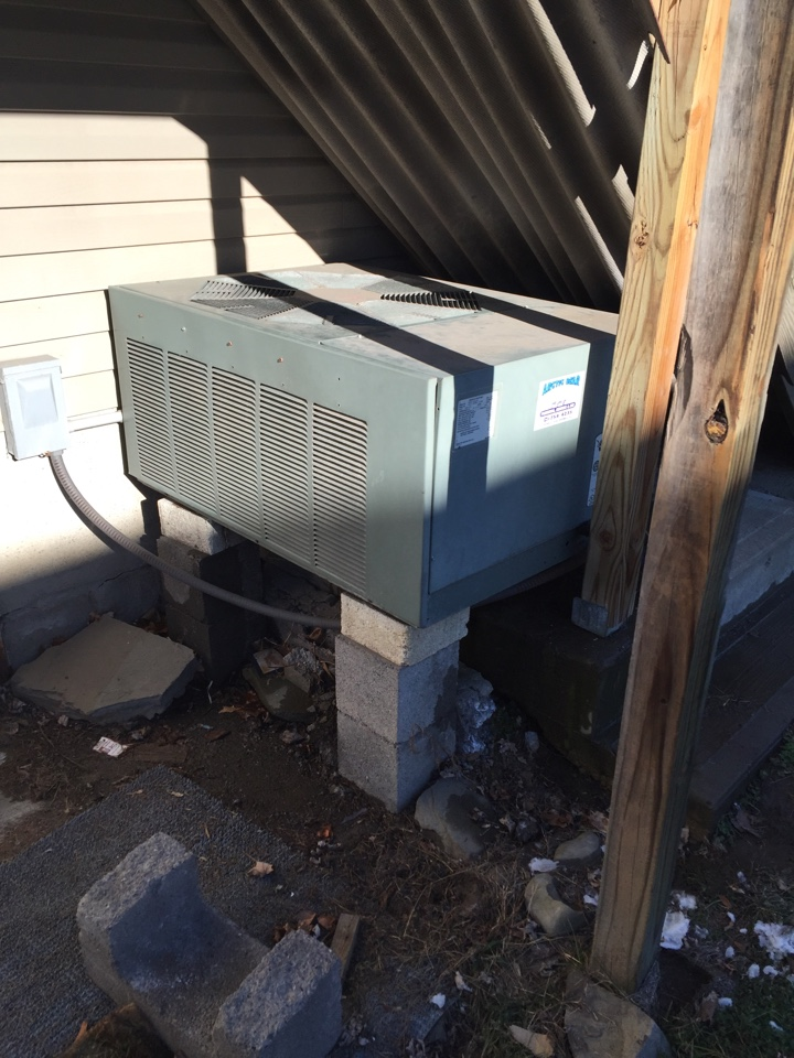 Laceyville, PA - No heat furnace repairs on a Ruud heat pump