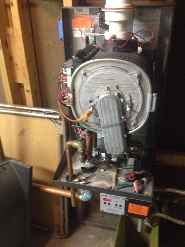 Brackney, PA - Munchkin boiler