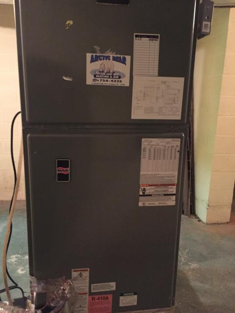 Little Meadows, PA - Annual furnace clean & service on Heat pump RUUD