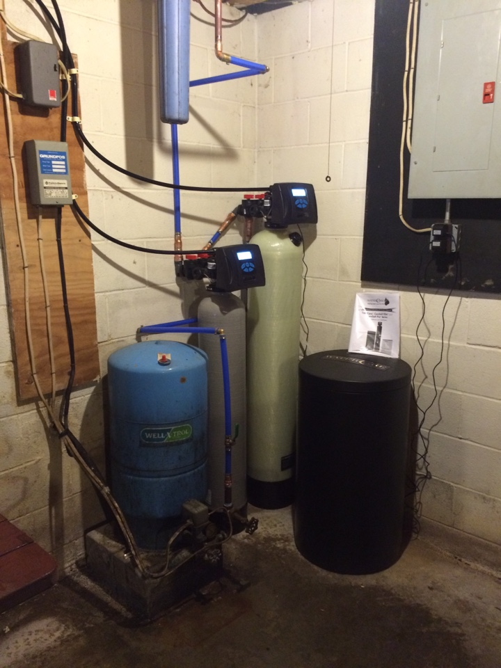 Susquehanna, PA - Water softener and neutralizer install