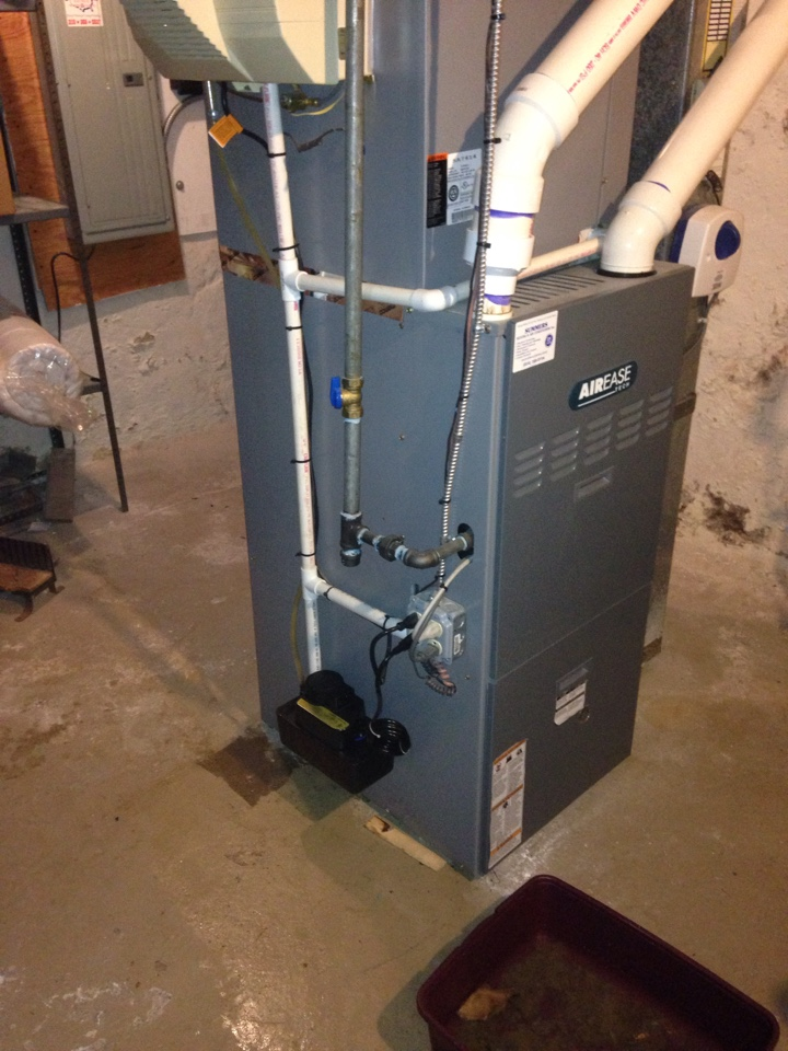 Jenkintown, PA - Replace condensate