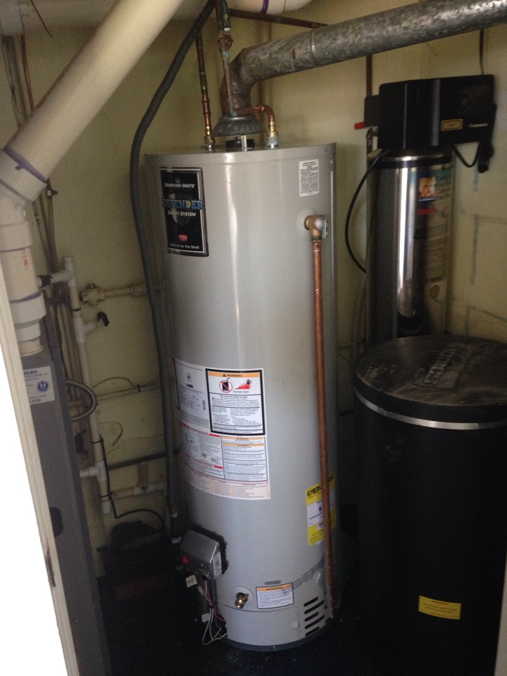 Abington, PA - Hot water heater installed