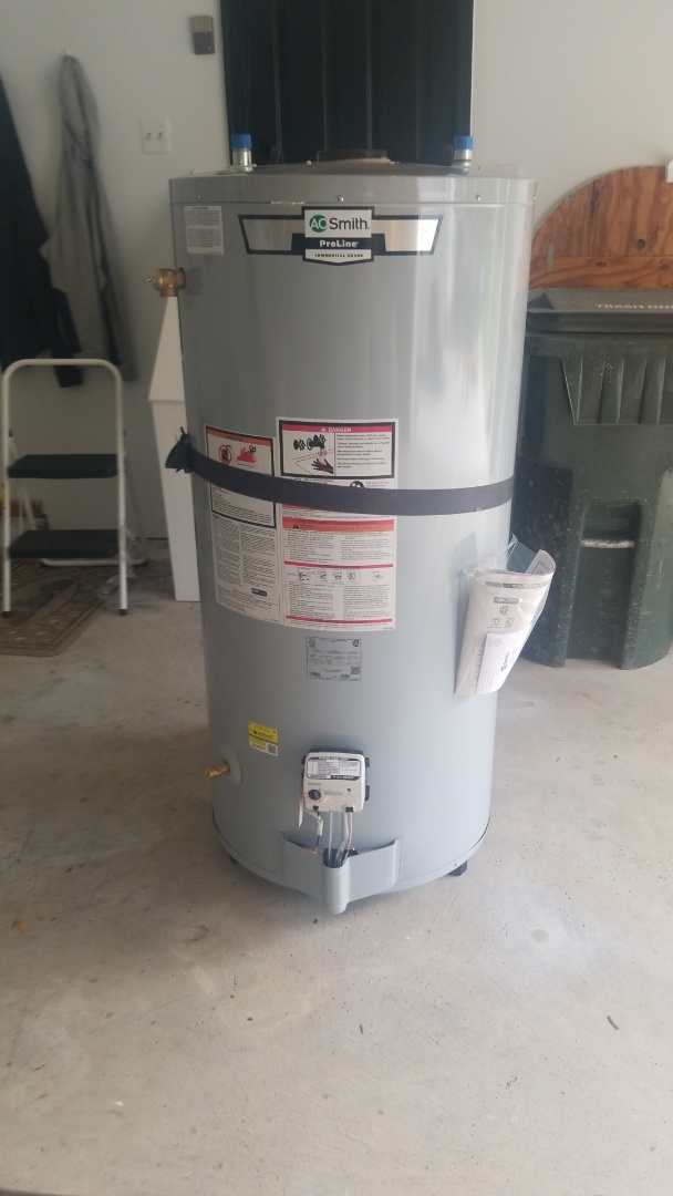 Rochester Hills, MI - Installation of new 75 gallon A.O Smith water heater in Rochester Hills!