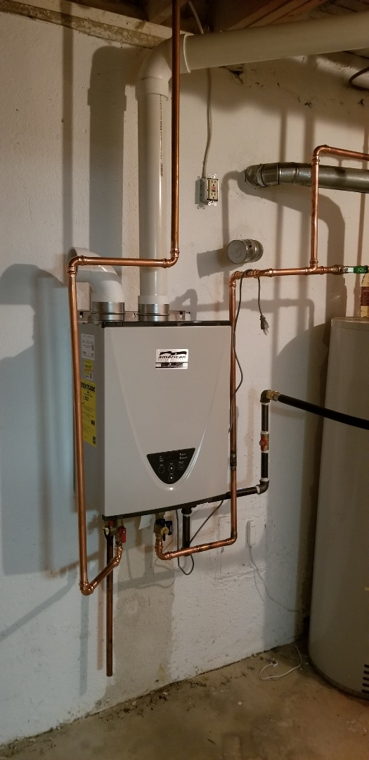 Rochester, MI - New tankless water heater in Rochester!