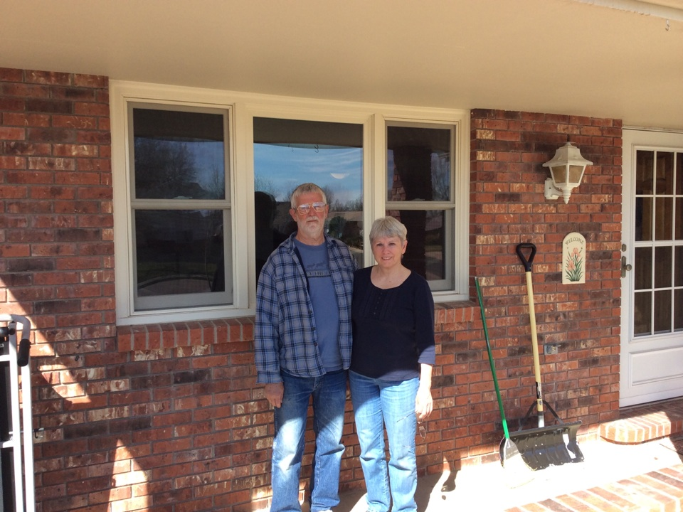 Loveland, CO - The Petersens love their Renewal by Andersen replacement windows and just ordered a new patio door!