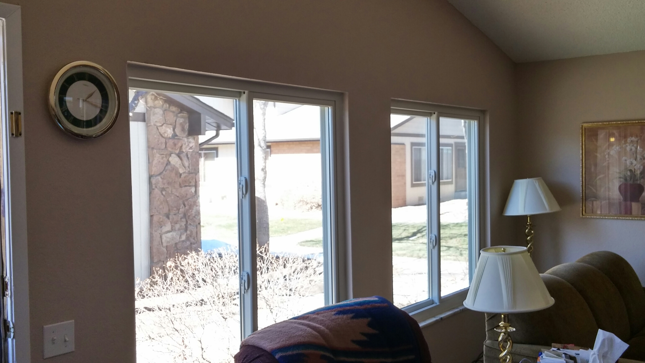 Aurora, CO - Installed new Renewal By Andersen windows and patio door for an updated look and better efficiency.