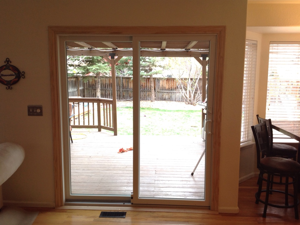 Littleton, CO - Helping Chris D. to achieve more energy efficiency and gain more light in home after beautiful patio door installation from Renewal by Andersen!