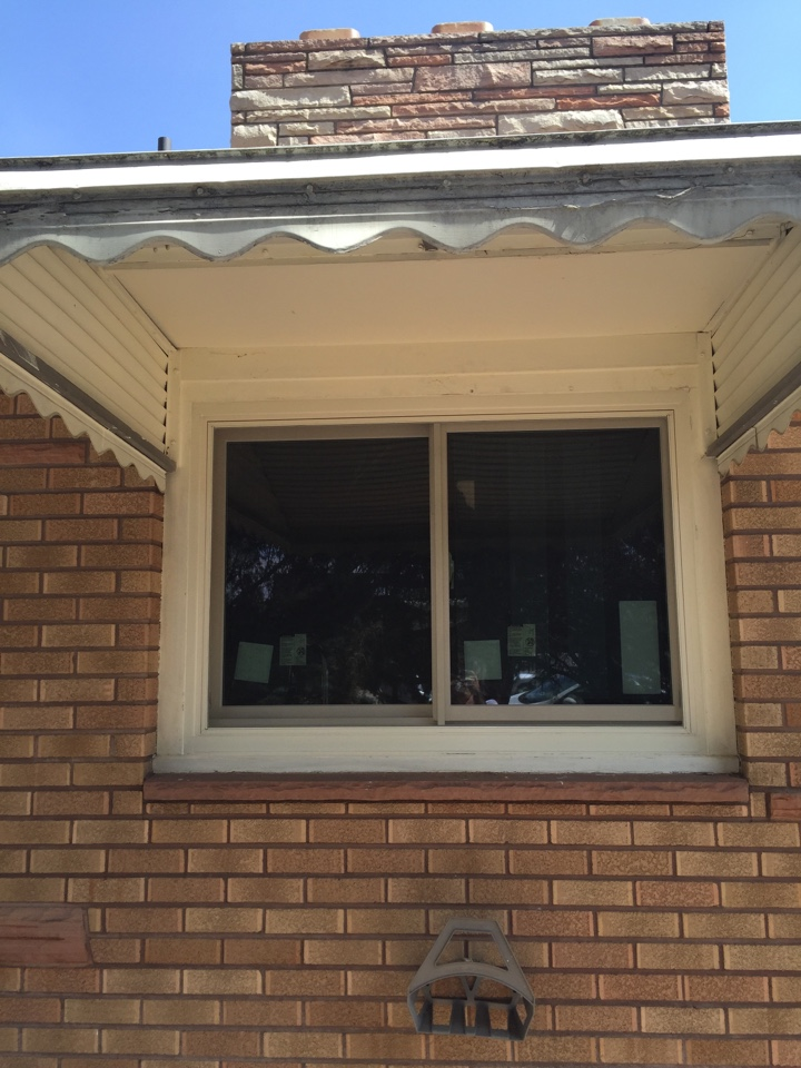 Loveland, CO - Replacing old non-opening aluminum windows with energy efficient gliding windows for maximum comfort and ventilation!
