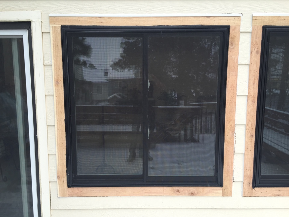 Colorado Springs, CO -  Replacement windows from Renewal by Andersen with Black exterior and white interior in Briargate.