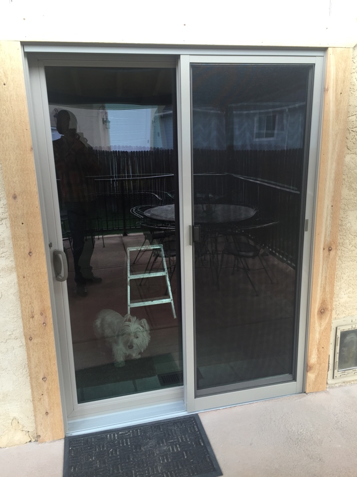 Colorado Springs, CO - Customer could not be happier with her new Renewal by Andersen door.  Loved the installers and simply could not say enough about how happy she is with everything!