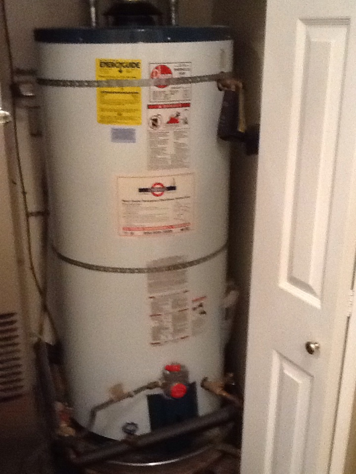 Stanford, CA - HVAC technician, performed maintenance on furnace, air conditioner, and water heater. Cleaned coil, checked refrigerant, drained water heater. Cleaned filter. Everything ok at this time.