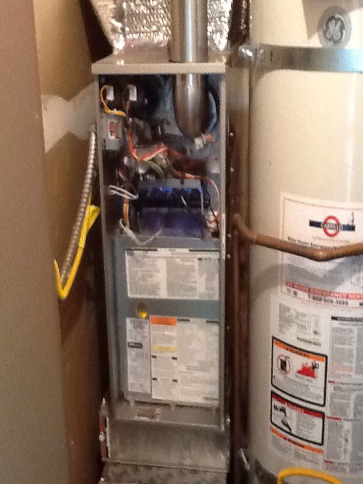 Mountain View, CA - Maintenance on Bryant furnace. Replaced filter, vacuumed and inspected. Unit ok at this time