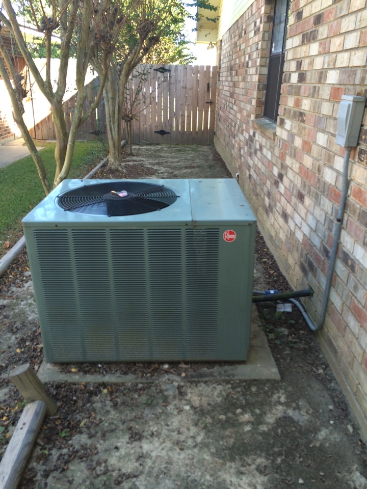 Baker, LA - Technician performed service on a 2008 Rheem heating system. After completion of tune up, system is now running efficiently