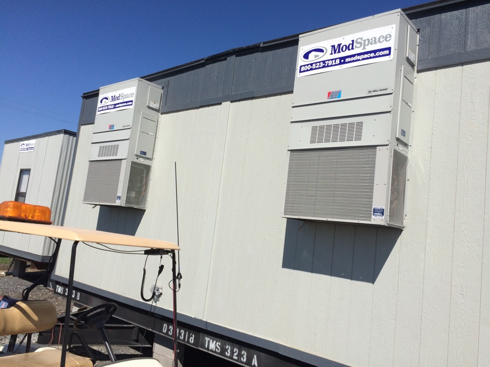 Saint Gabriel, LA - Clean air filters on 3 bard wall pack units.