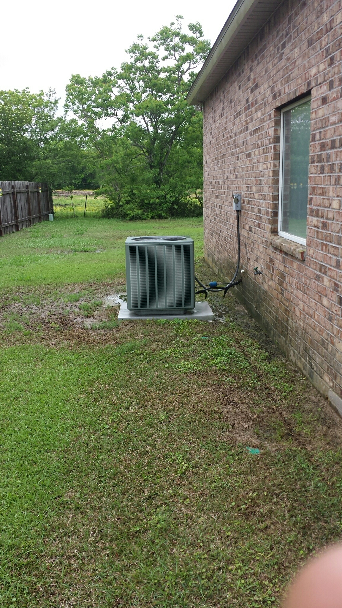 New Roads, LA - Rheem AC unit summer cleaning.