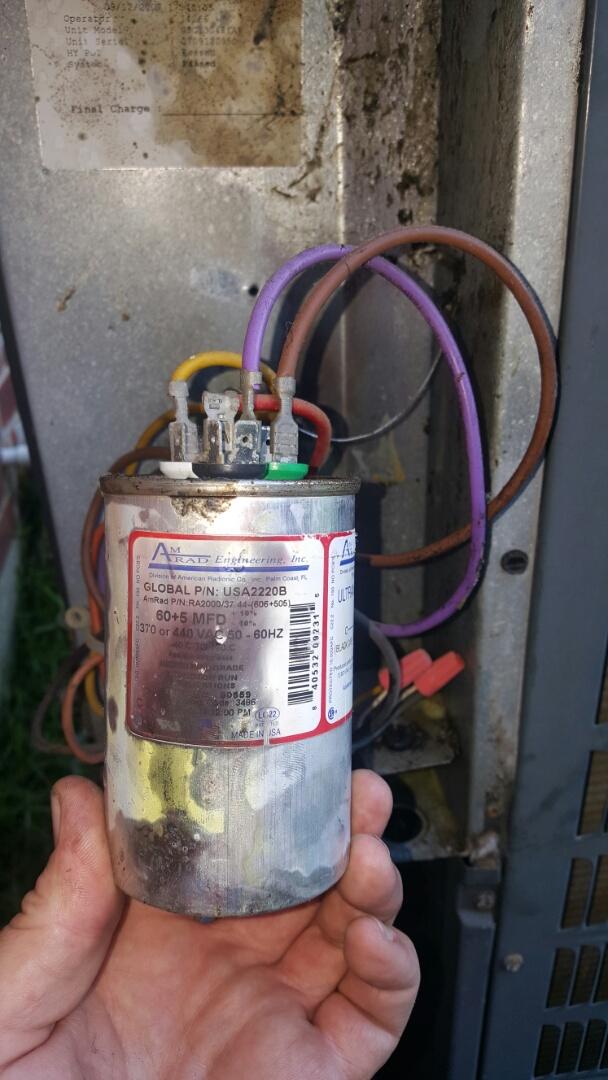 Brusly, LA - Goodman ac repair.