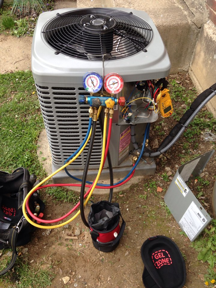 Darby, PA - Tune up 2 year old Luxaire gas furnace and Air Conditioning