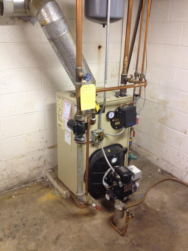 Oil boiler repair
