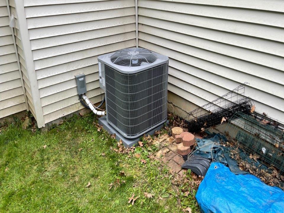 Phillipsburg, NJ - Install new 3-1/2 to Air conditioner