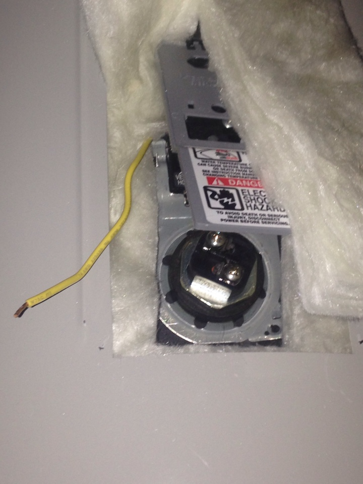 Replace upper electric water heater element onbradford white water heater.