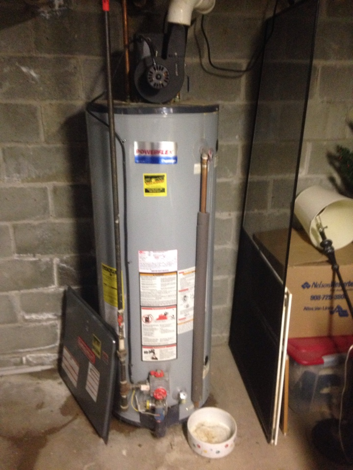 Water heater leaking on floor! Water heater needs to be replaced