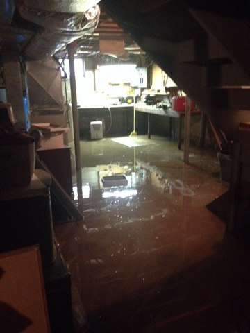 Replace broken sump pump. Regular inspections of your sump pump can prevent a flood in your basement.
