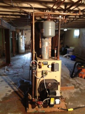 De-winterized boiler