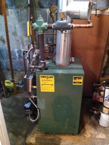 Oil boiler maintenance