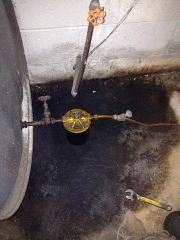 Repair oil leak at oil filter