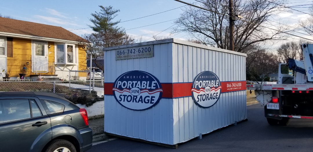 Annapolis, MD - American Potable Storage was able to provided a portable 16 foot storage unit through the Murrays insurance company for four months during renovations.