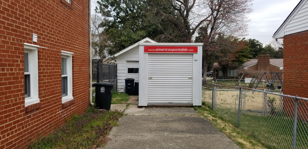 Mount Rainier, MD - After 1 year of service High Quality Day Care is finished with the storage unit that provided them with a clean, dry long term storage solution from American Potable Storage.