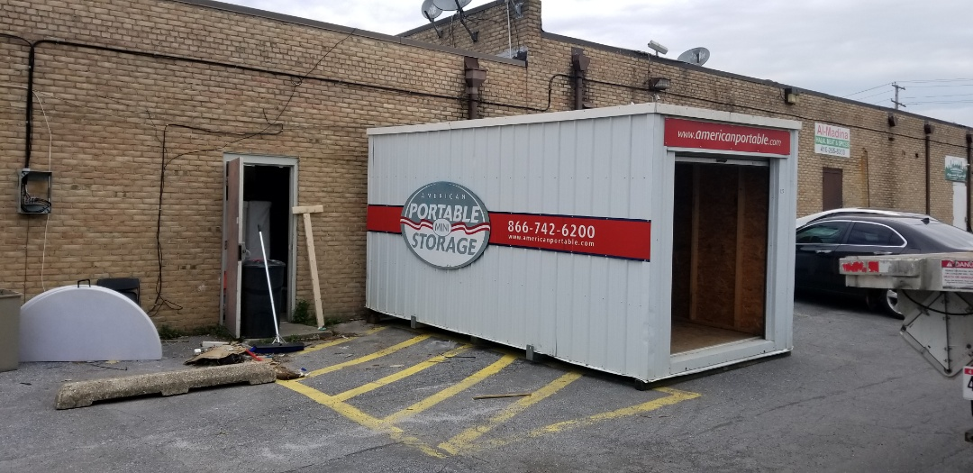 Woodlawn, MD - Need a long term on site storage solution for your business let American Potable Storage provide you with climate and non climate controlled, clean, secure, dry portable unit like we did for Ballroom at 1808.