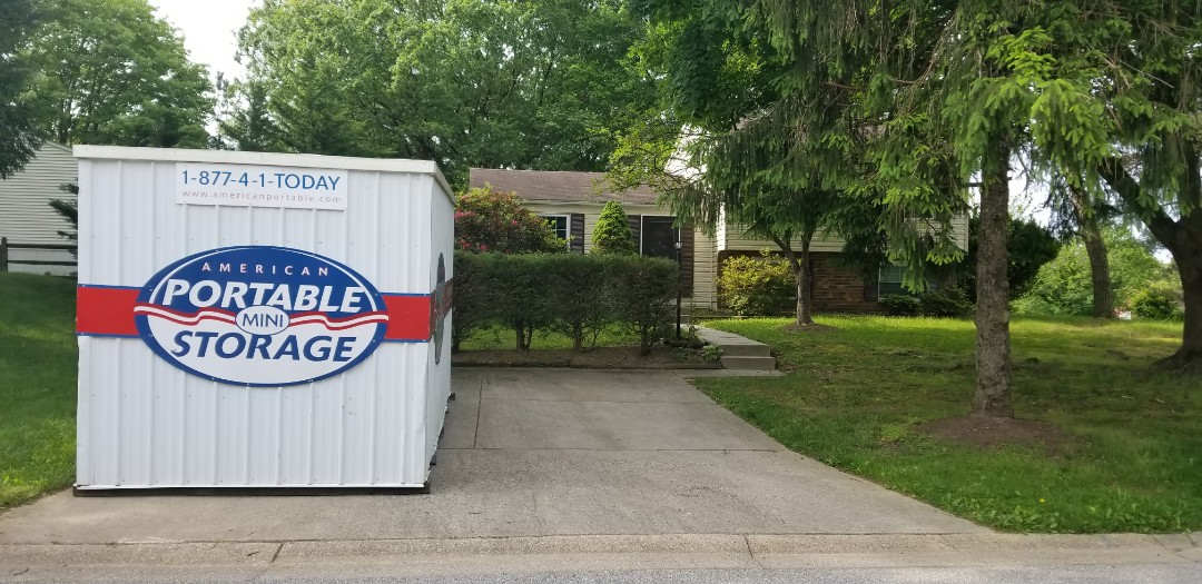 Columbia, MD - Storage while you move. American Potable Storage can provide a storage container and house it in a secure lot while you are in the process of moving.
