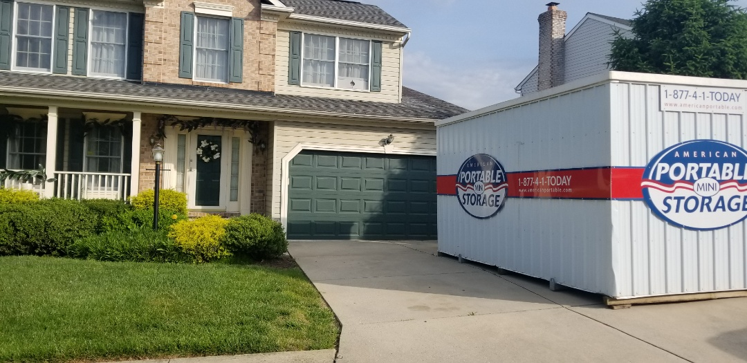 Nottingham, MD - American Potable Storage has provided excellent service to Meyers Construction for a number of years. How do we know? When the owner is remodeling his own home he asks for one of our storage units.