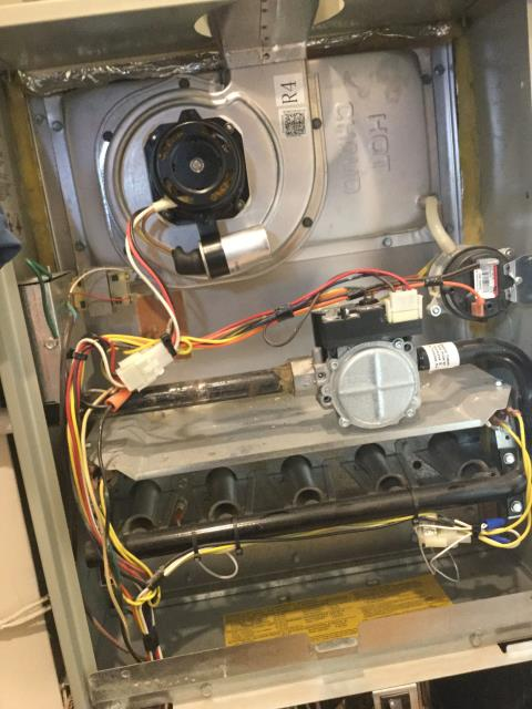 Elk Grove Village, IL - Inducer motor repair 10 year old Trane Furnace