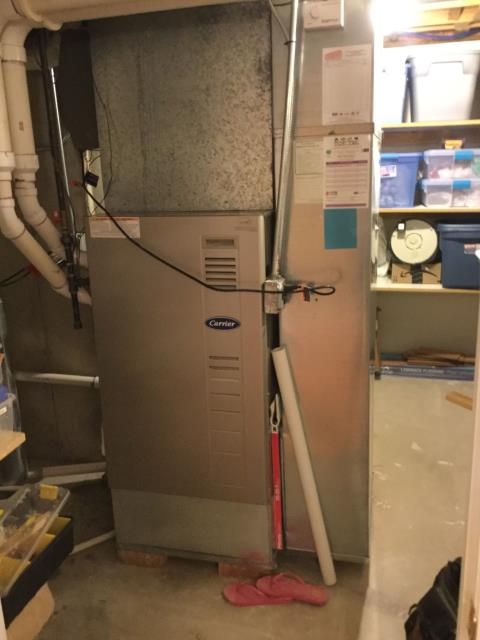 Vernon Hills, IL - Carrier furnace maintenance inspection