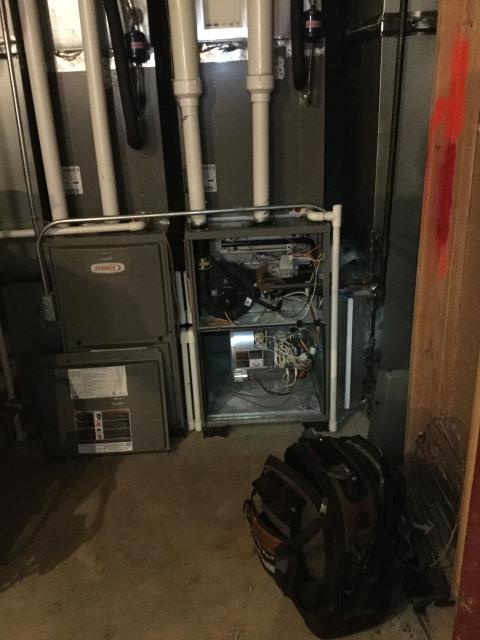 Huntley, IL - 8 year old Lennox furnace repair