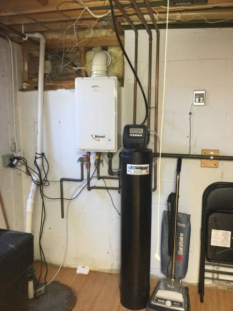Cary, IL - Tankless water heater maintenance